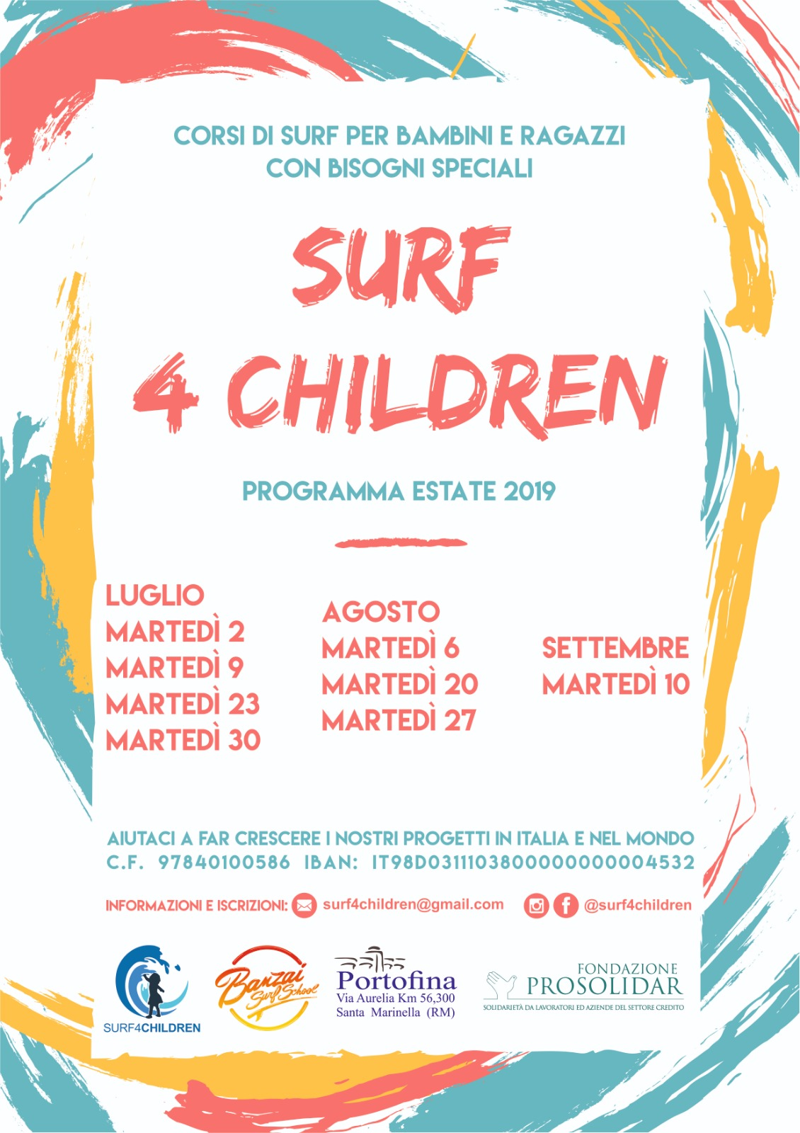 Surf, mare e tanto divertimento! Gli appuntamenti dell'estate 2019